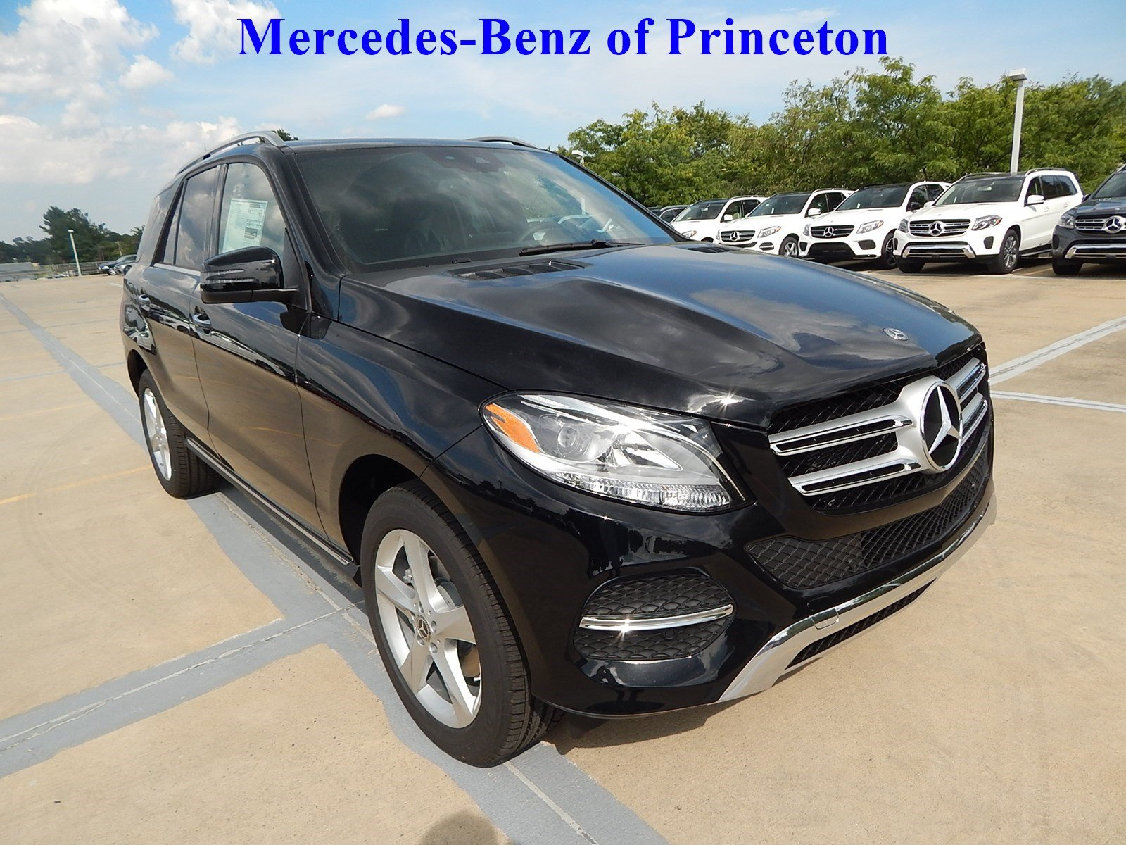 New 2018 mercedes benz gle gle 350 4matic sport utility in for Mercedes benz princeton