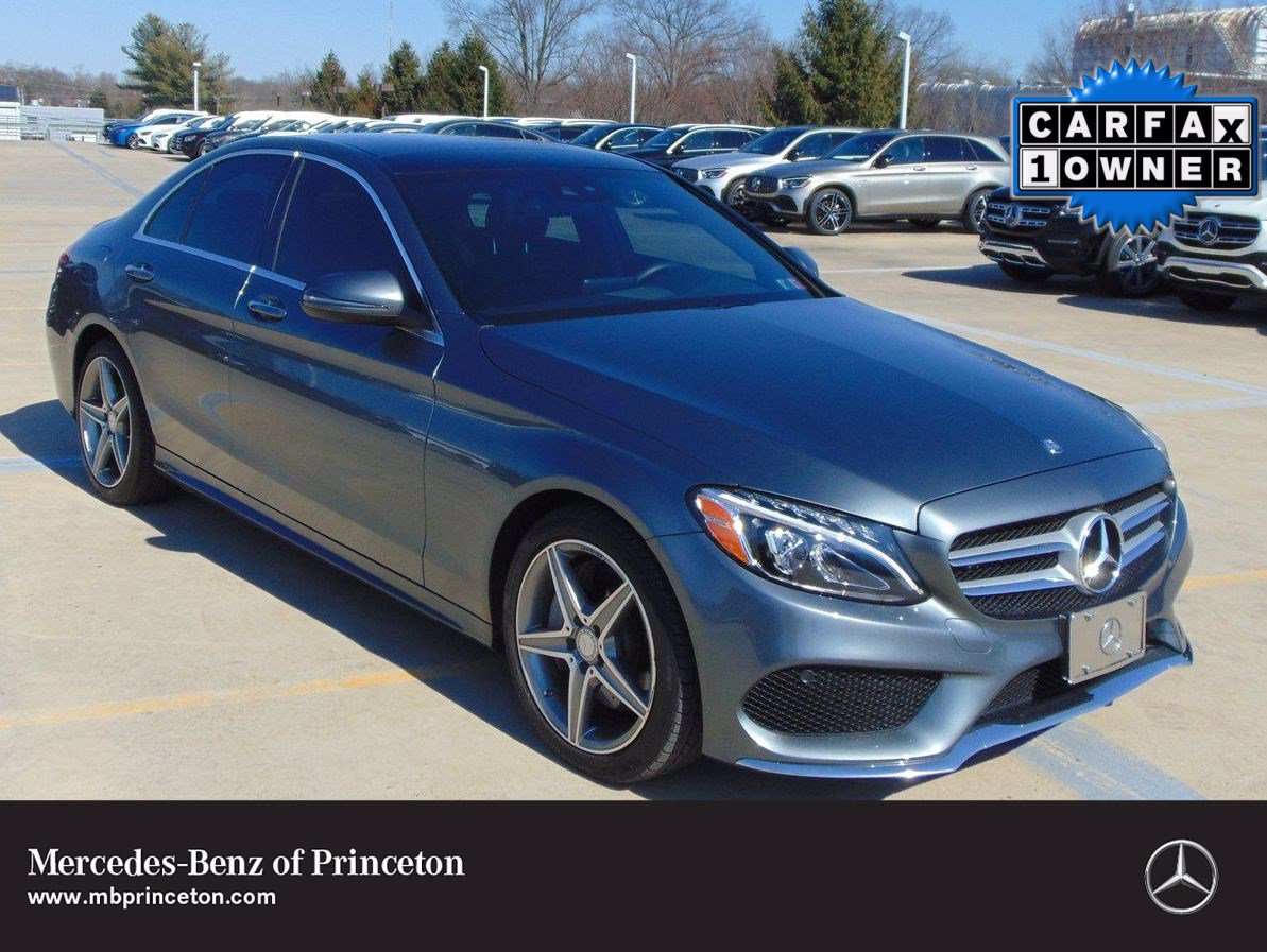 Certified Pre-Owned 2017 Mercedes-Benz C-Class C 300 Sport 4MATIC®
