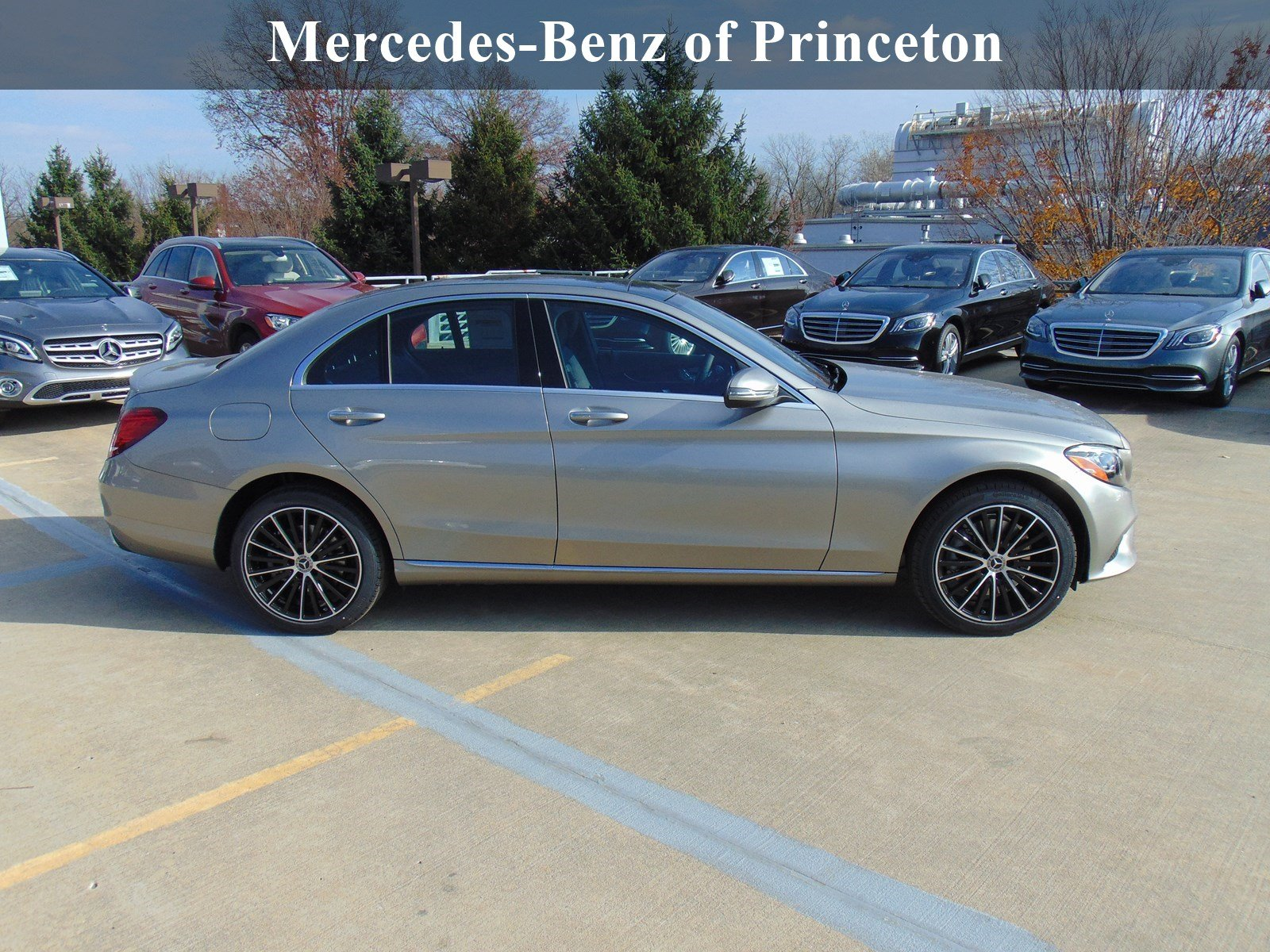 New 2019 Mercedes Benz C Class C 300 SEDAN in Lawrence Township