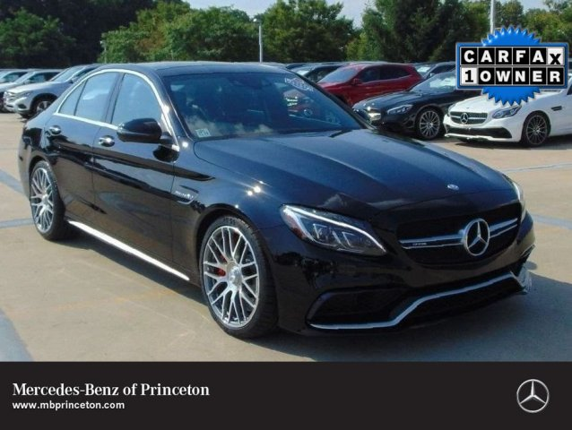 Certified Pre-Owned 2016 Mercedes-Benz C-Class AMG® C 63 S