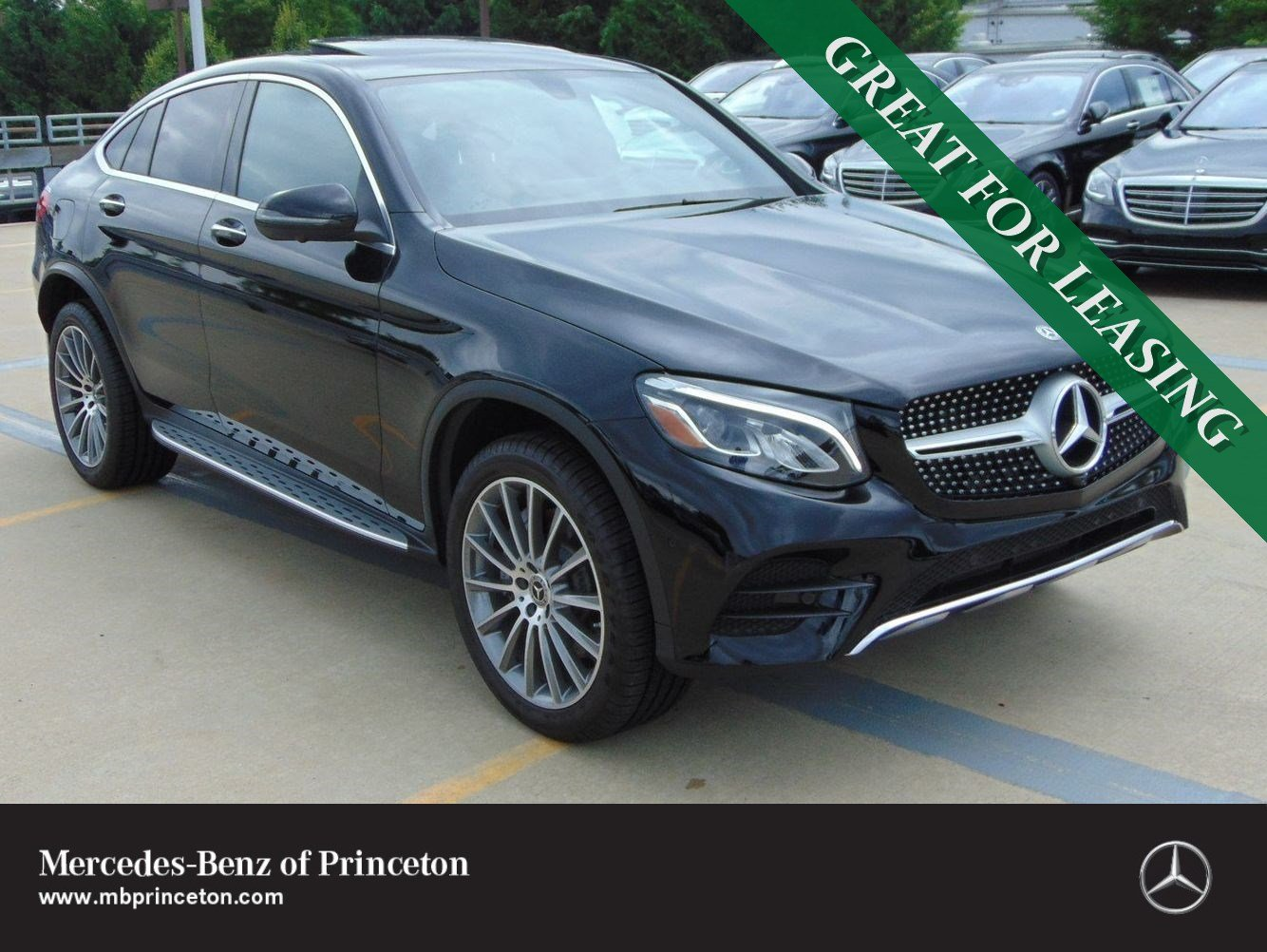 Pre-Owned 2019 Mercedes-Benz GLC GLC 300 Coupe 4MATIC®