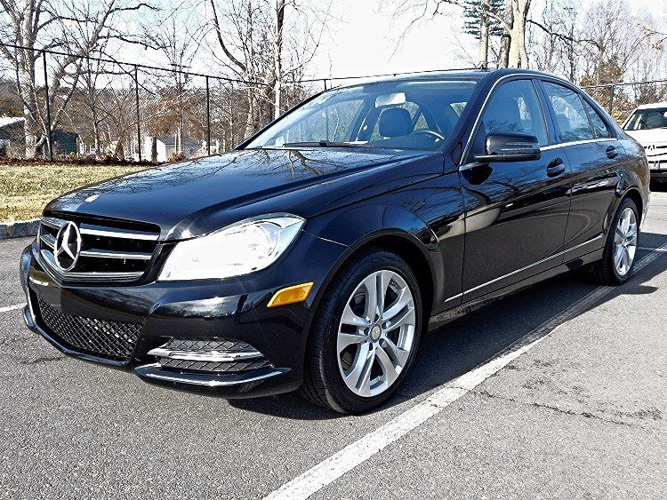 Certified pre owned 2014 mercedes benz c class c 300 for Princeton mercedes benz used cars