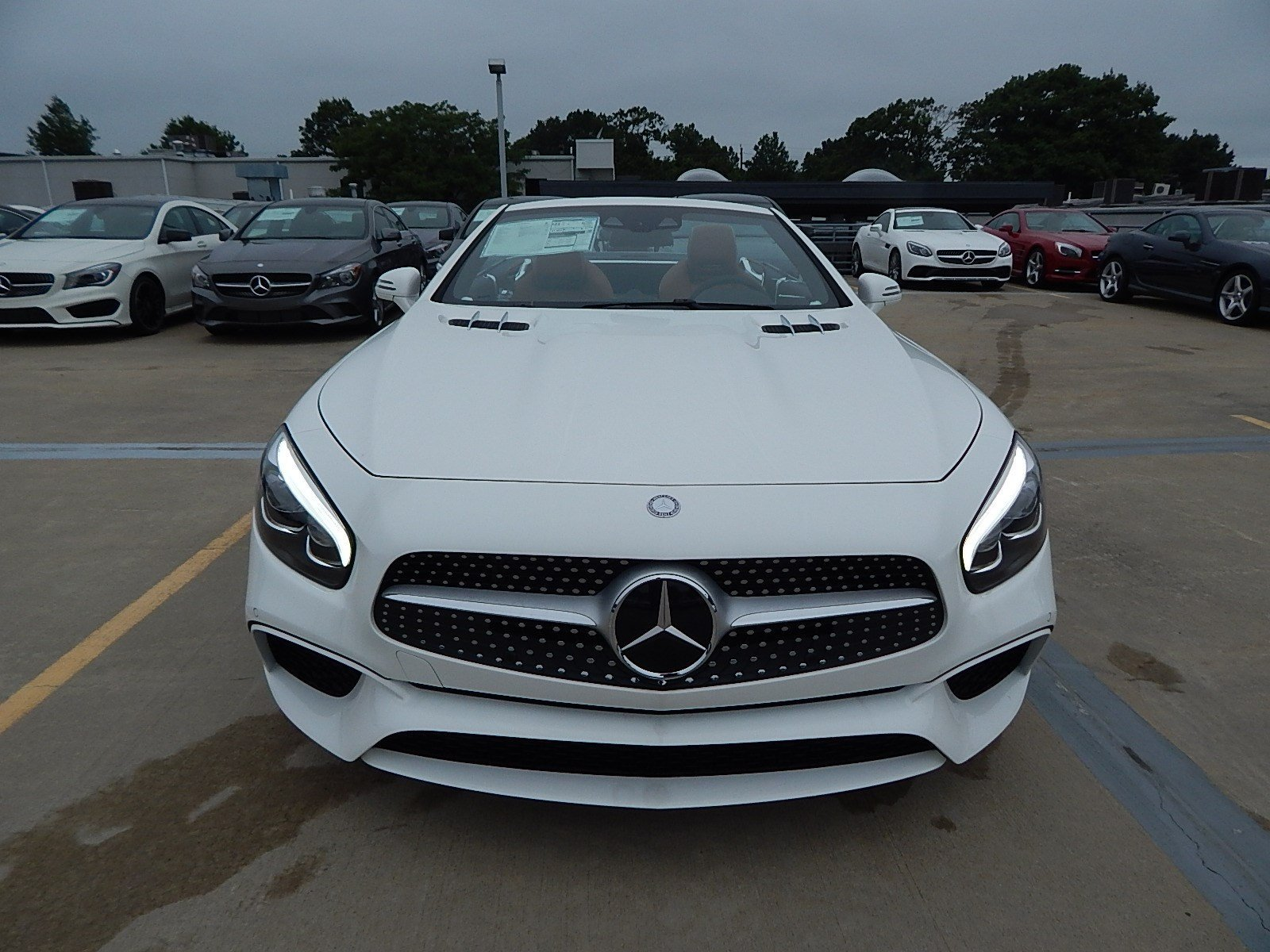 New 2017 mercedes benz sl sl450 roadster in lawrenceville for Mercedes benz princeton