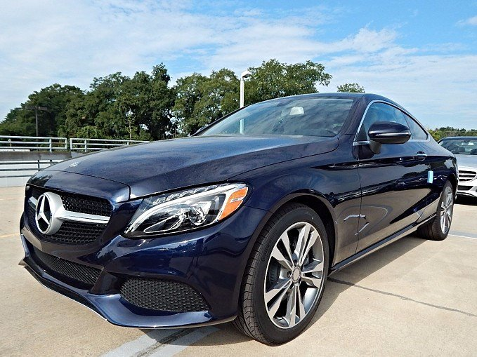 New 2017 mercedes benz c class c300 coupe 4matic coupe in for Mercedes benz princeton