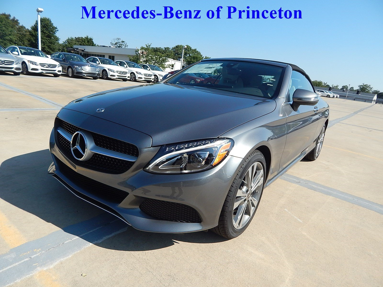 New 2018 mercedes benz c class c 300 cabriolet in for Mercedes benz princeton