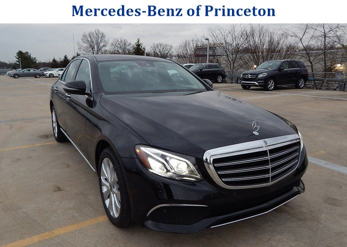 New 2018 mercedes benz e class e 300 luxury sedan in for Mercedes benz princeton