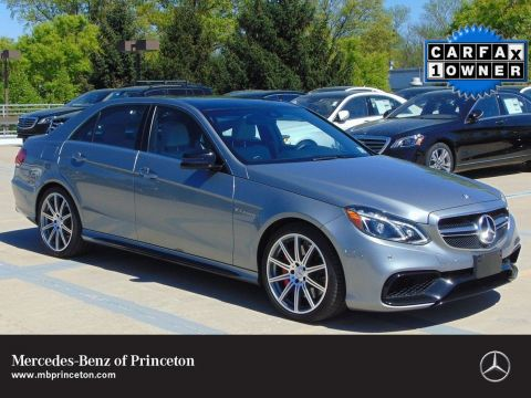 Certified Pre-Owned 2014 Mercedes-Benz E-Class AMG® E 63 Performance Package