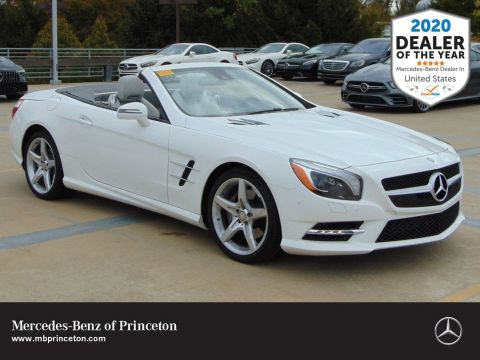 Certified Pre-Owned 2016 Mercedes-Benz SL SL 550