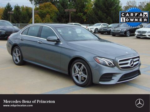 Certified Pre-Owned 2017 Mercedes-Benz E-Class E 300 Sport 4MATIC®